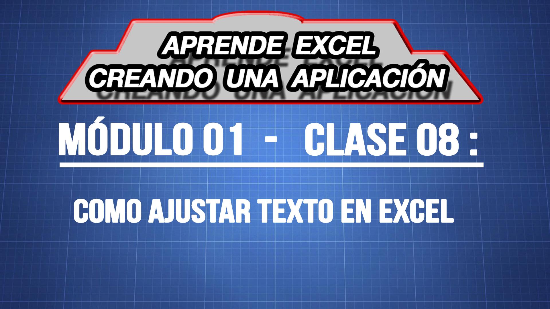 Como ajustar texto en Excel fácil  — ExpertoDigital.Net