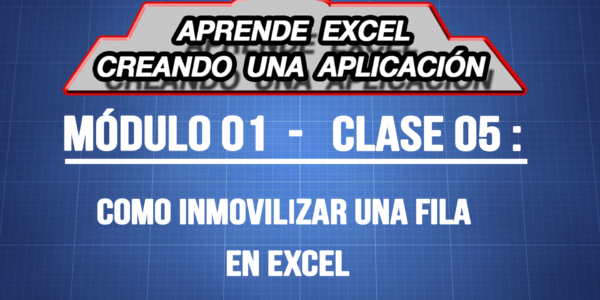 Cómo inmovilizar una fila en Excel - ExpertoDigital.Net