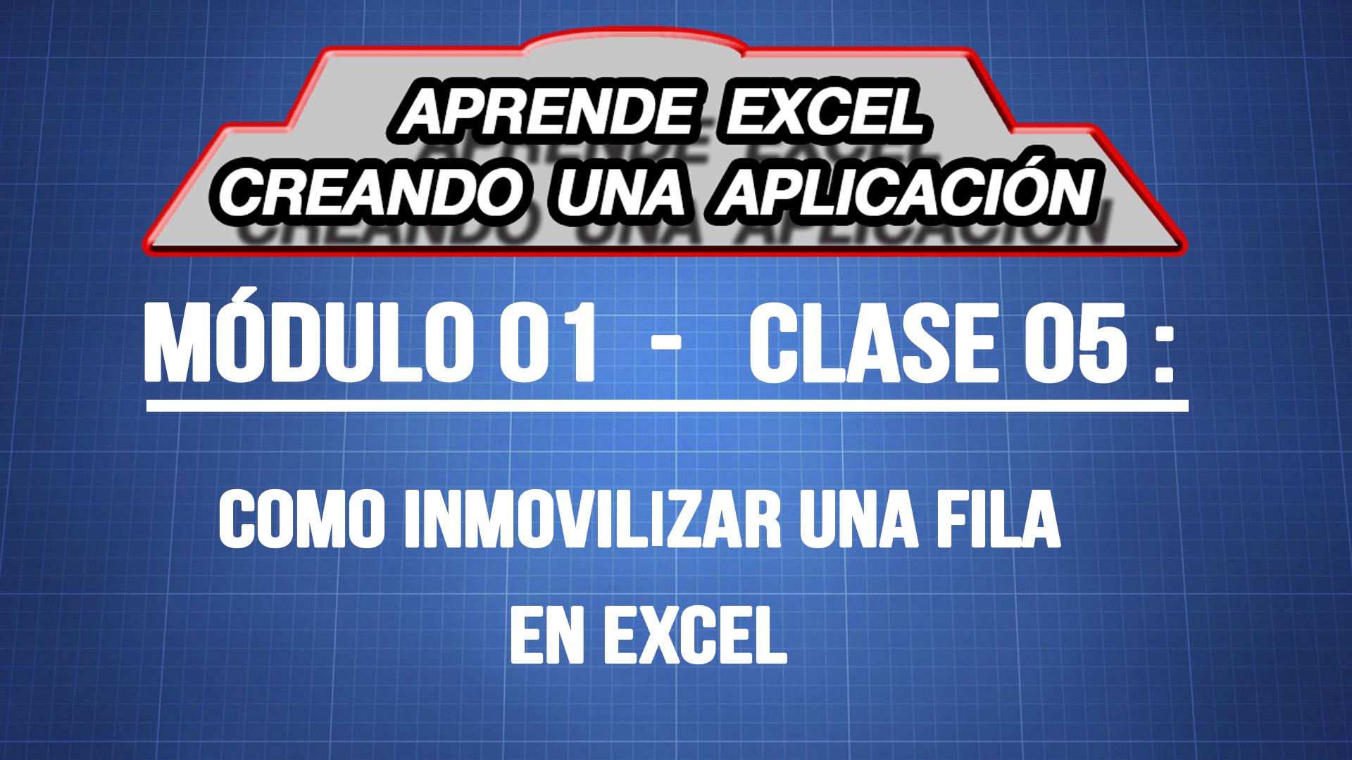 Cómo inmovilizar una fila en Excel — ExpertoDigital.Net