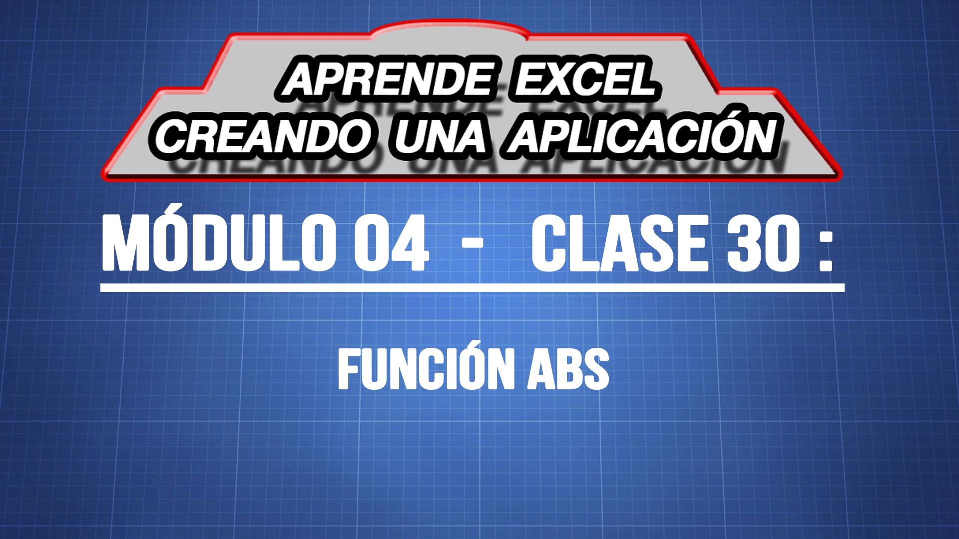 Como usar la función ABSOLUTO — ExpertoDigital.Net