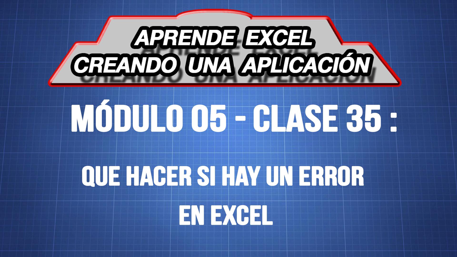 Que hacer si hay un error en Excel — ExpertoDigital.Net