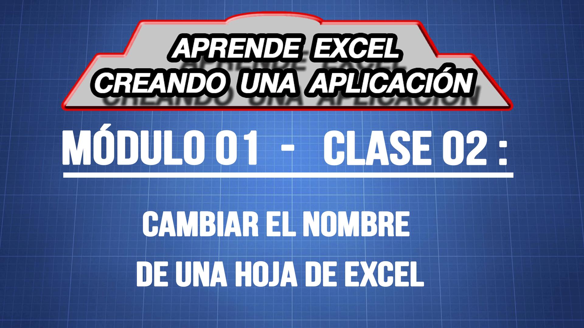 Cambiar el nombre de una hoja de Excel — ExpertoDigital.Net