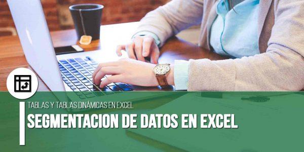Segmentacion de datos Excel