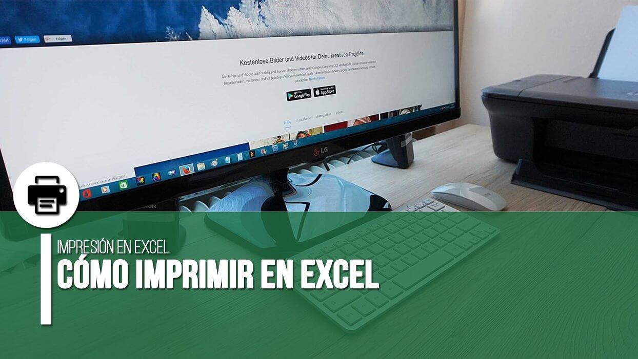 Cómo imprimir en Excel